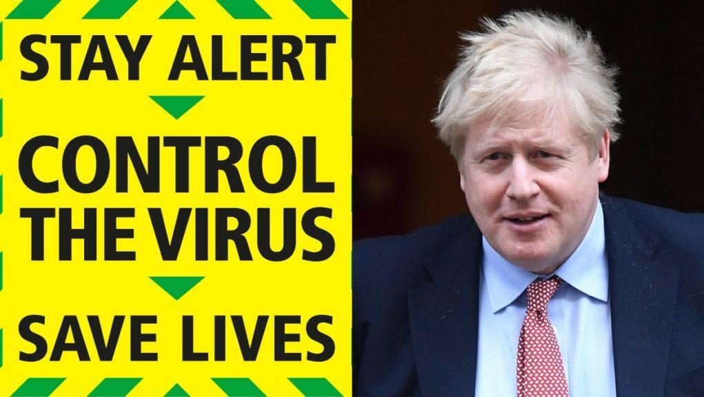 UK Government's new coronavirus slogan.