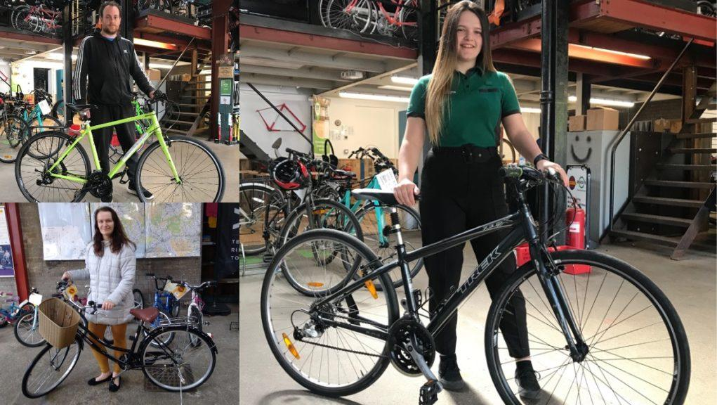 The Bike Station: The charity has been gifting free bikes to key workers.