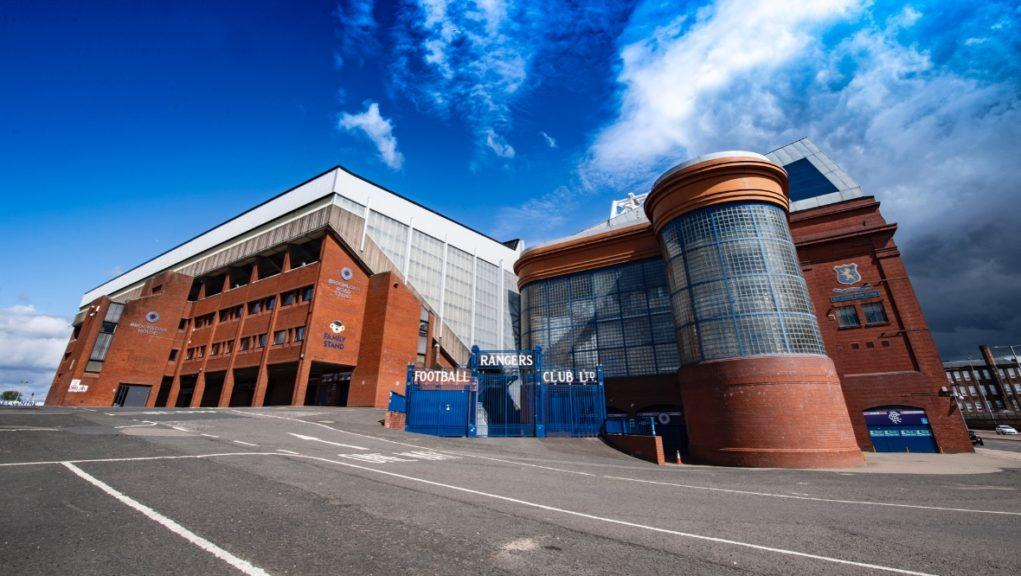 Ibrox: Rangers have sealed a deal with Castore.