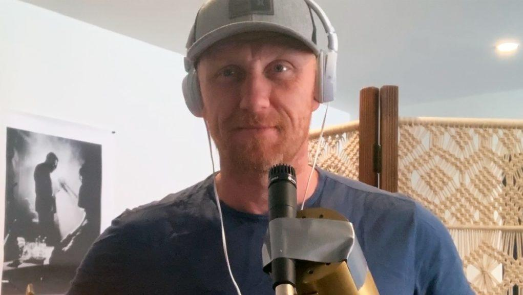 Superstar: Trainspotting and Grey's Anatomy actor Kevin McKidd.
