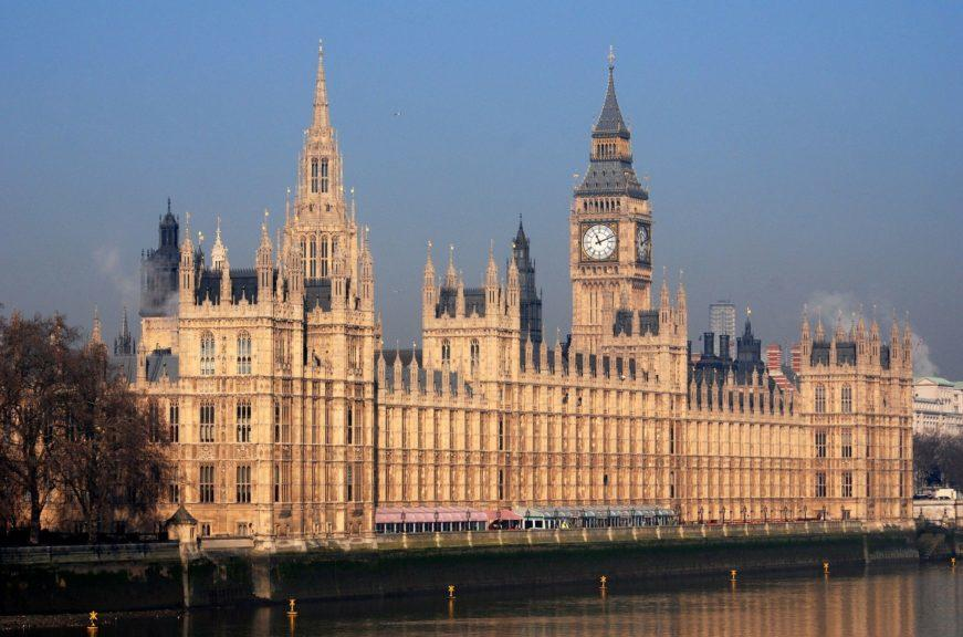 Westminster: Government blame Iran for fatal drone attack.