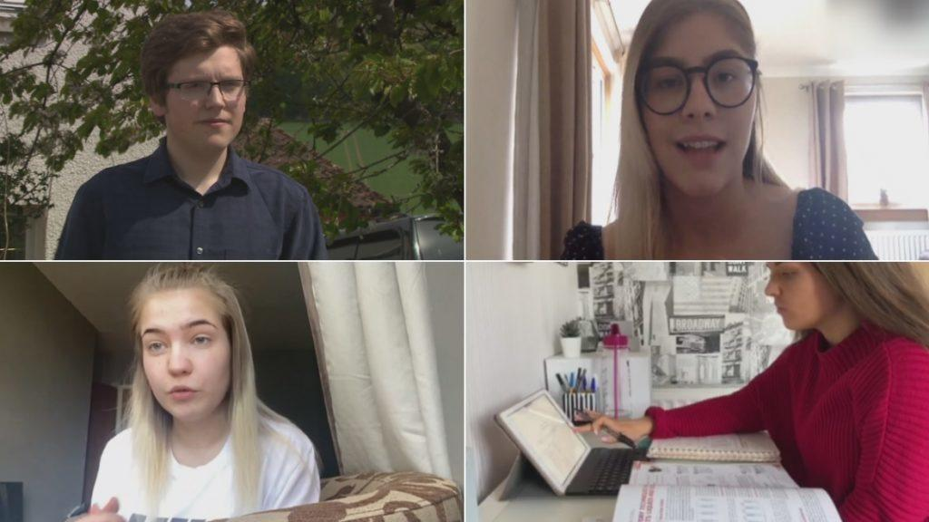 Economic impact: Young people speak out on their fears.