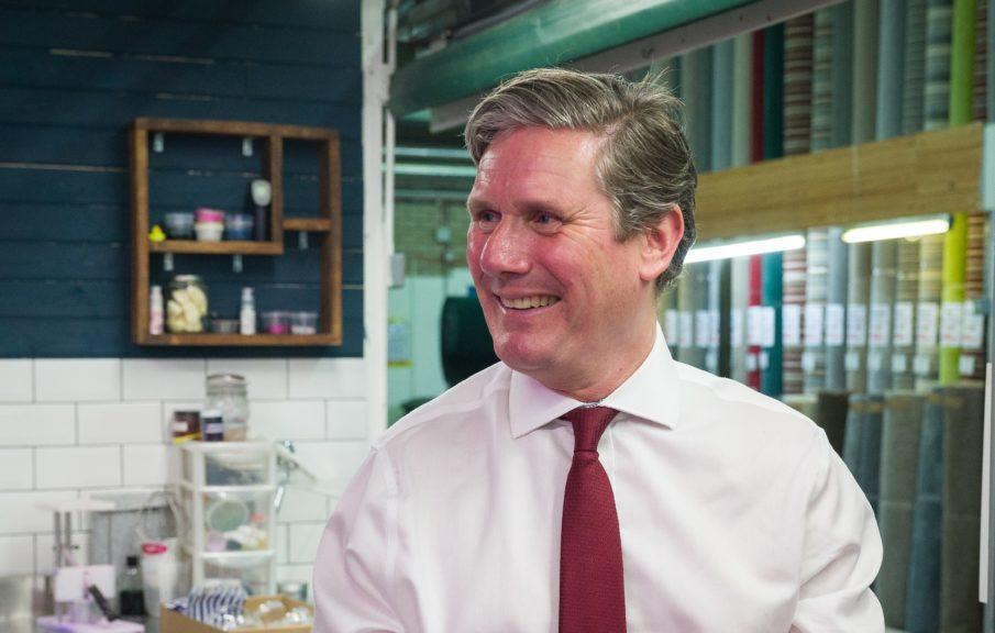Keir Starmer: Looking to reconnect Labour with Scotland.