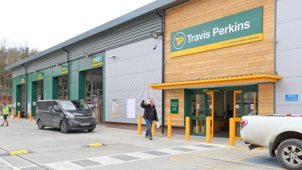 Travis Perkins to close stores and cut jobs.