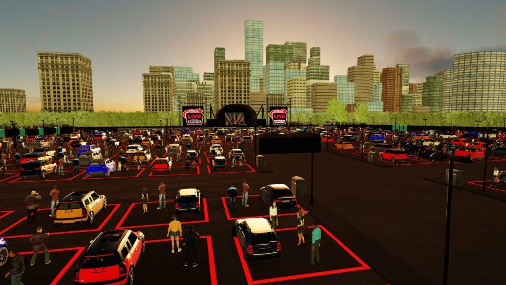 Drive-in concert line-up has been announced.