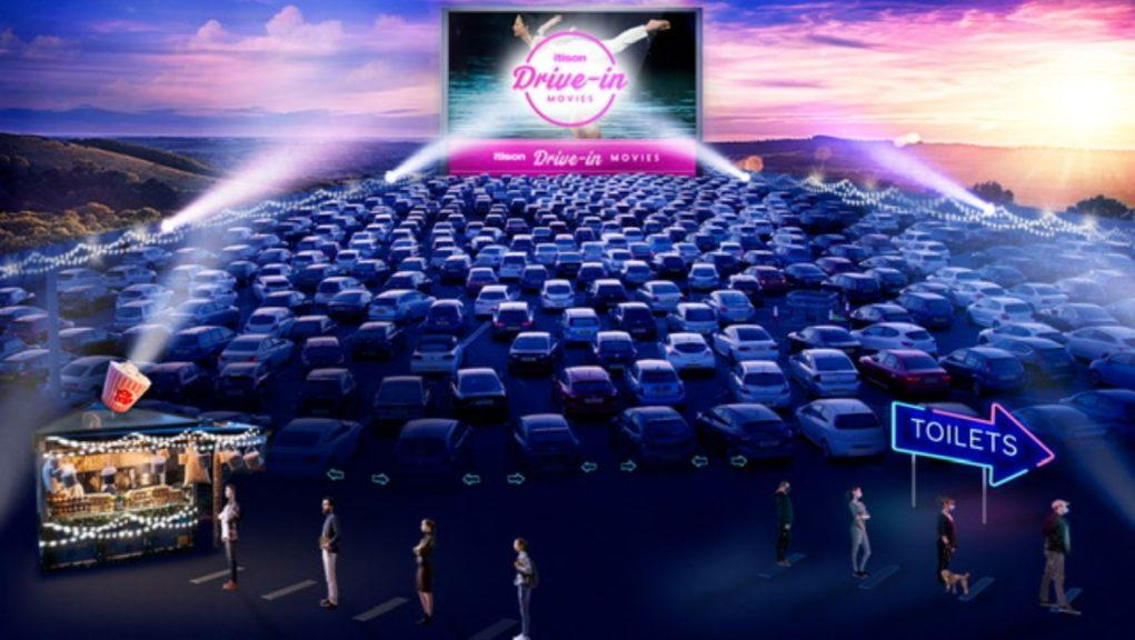 Drive-in movies will be held at Loch Lomond.