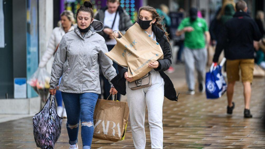 UK economy dropped 2.2% in first quarter.