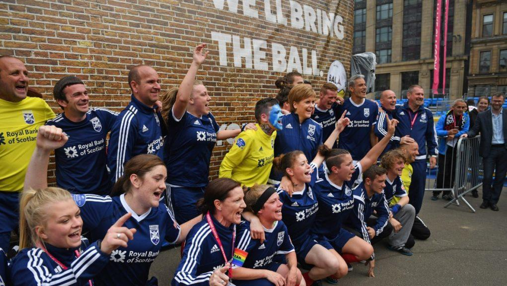 Glasgow hosted Homeless World Cup in 2016.