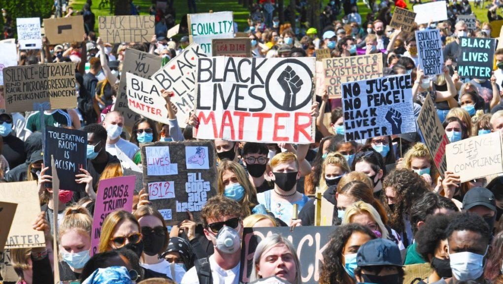 Black Lives Matter: Protests were held across the country.