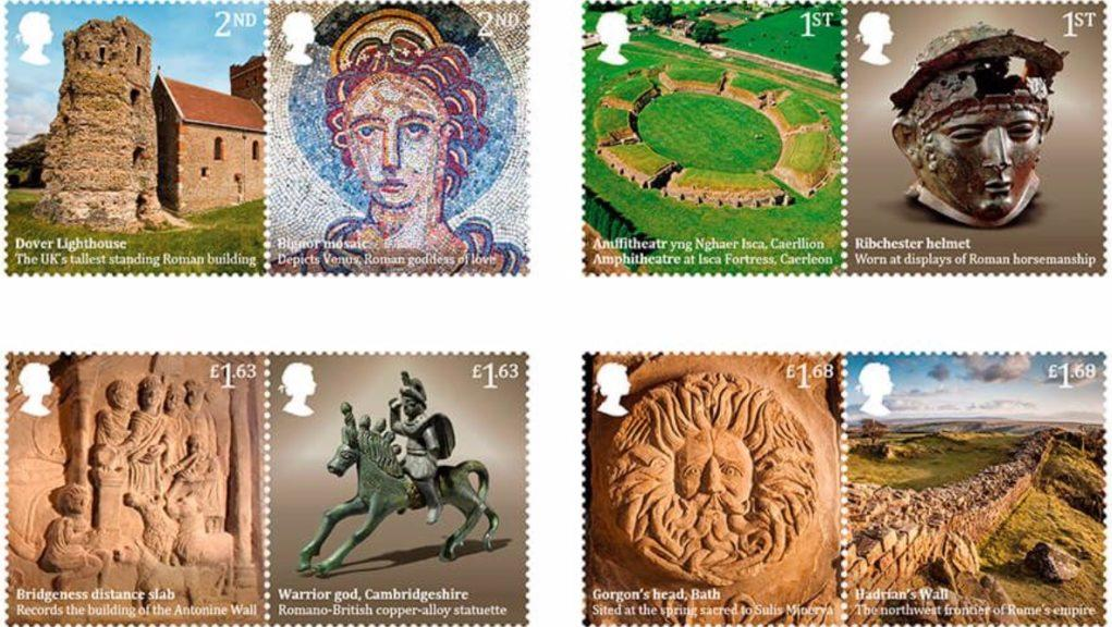 Royal Mail: The new stamps will go on general sale next week.