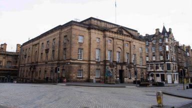 High Court in Edinburgh.