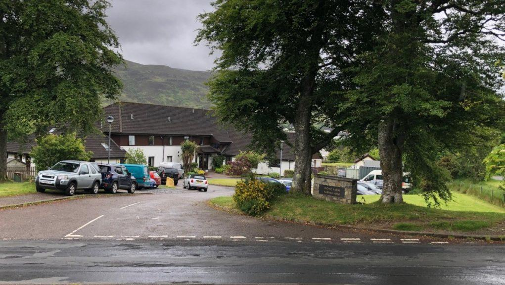 Ten elderly residents have died at Home Farm in Skye.