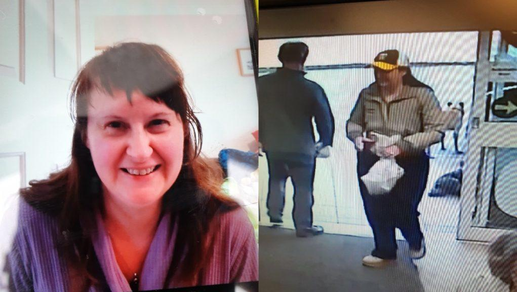 Sarah Flett: Last seen on Saturday.