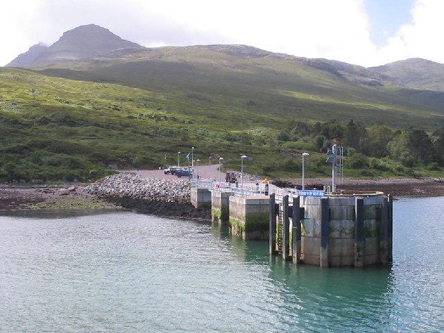 New homes: Isle of Rum.
