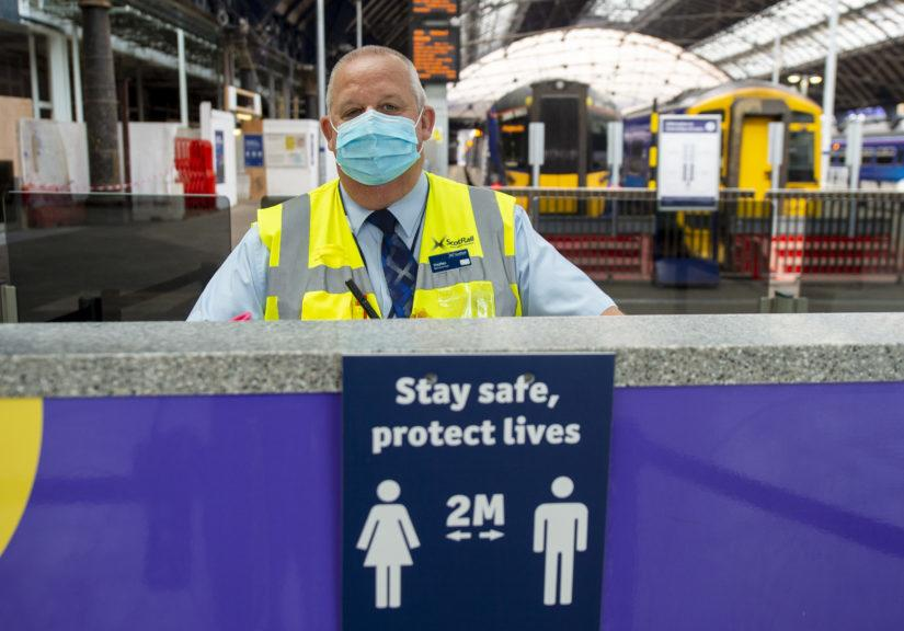 ScotRail: The firm is set to resume at least 90% of services from Monday.