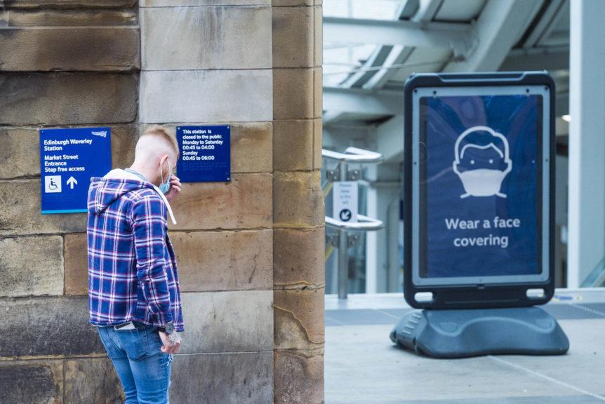 Scotland records 60 new cases overnight.