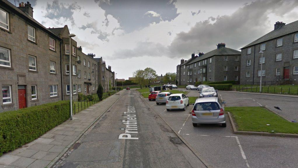 Fire: Printfield Terrace, Aberdeen.