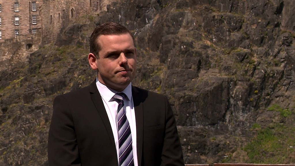 Douglas Ross: Scottish Tory leader said communities had come together during the coronavirus pandemic.