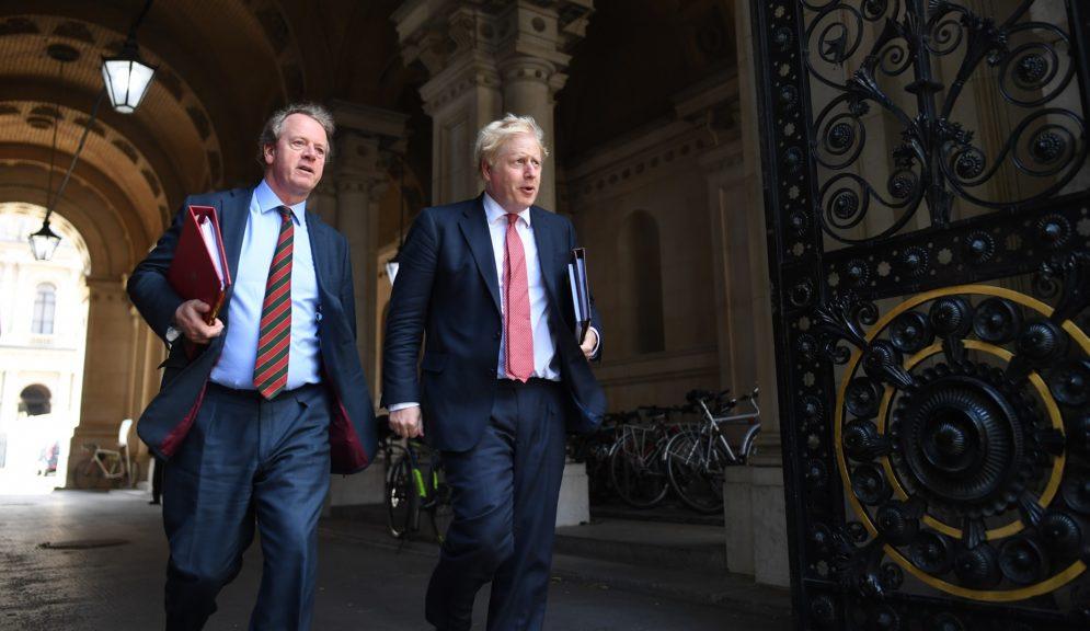 Ian Blackford says Scottish secretary Alister Jack (pictured with Boris Johnson) should fight back or resign.