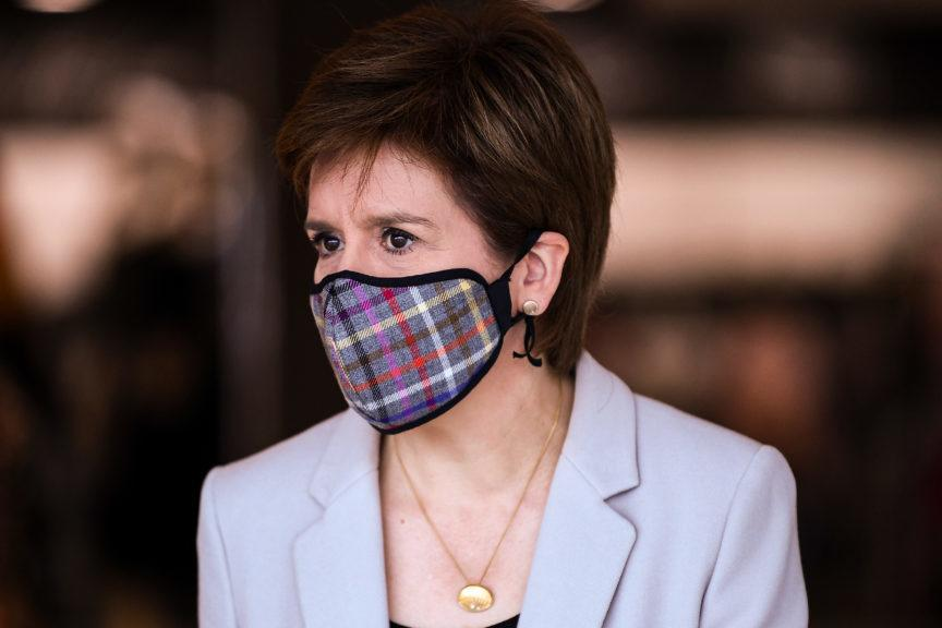 First Minister: Wearing a face covering in shops is now compulsory.