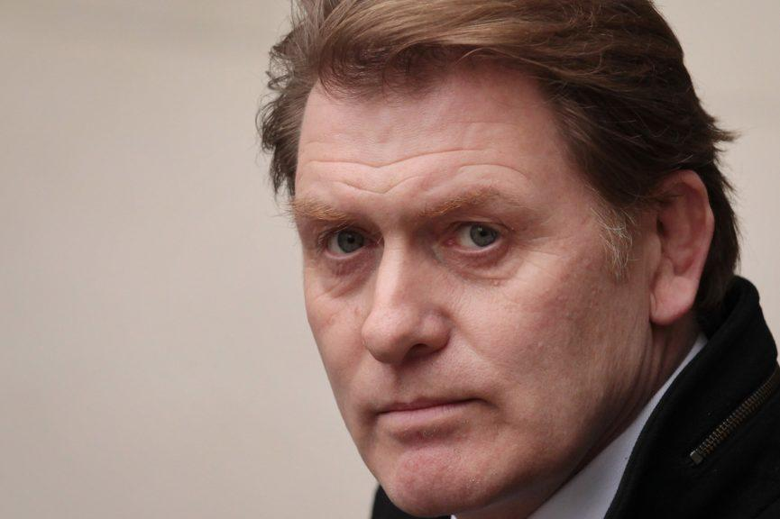 Eric Joyce: Pictured in 2012,