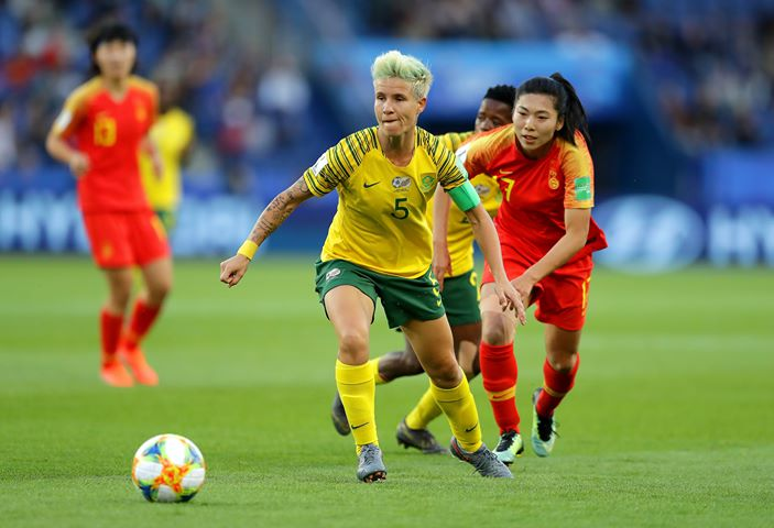 Janine van Wyk has signed a deal to join Glasgow City.