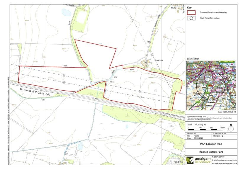 Plans submitted for Kaimes Renewable Energy Park