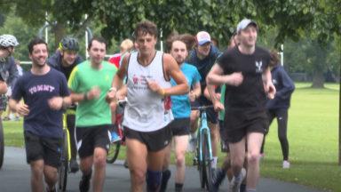 Man runs 30 marathons in 30 days for charity.