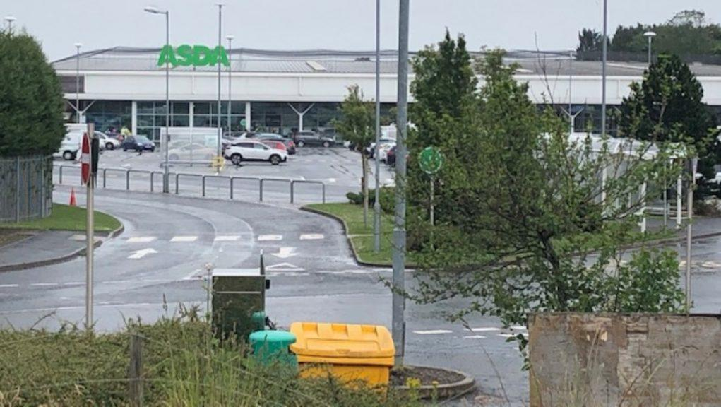 Asda in Glenrothes had to close.
