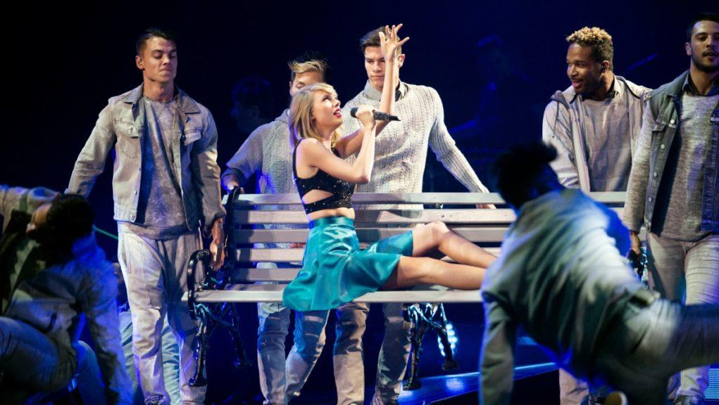 Live events: Taylor Swift performing at the SSE Hydro in Glasgow.