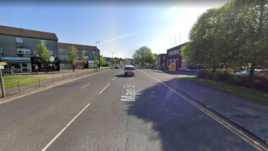 Man was attacked on Coatbridge's Main Street.