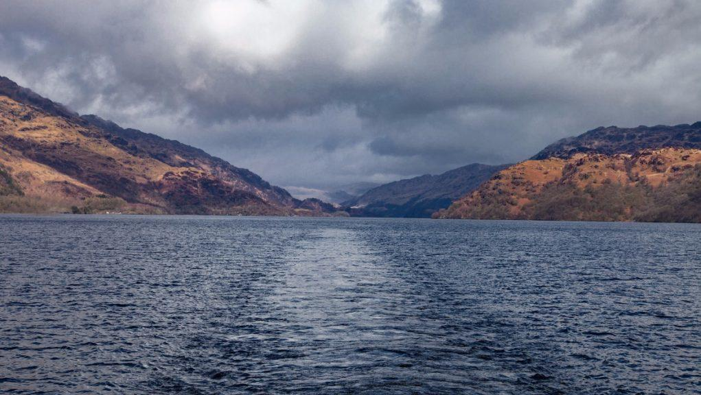 Making a splash: Visitors to Loch Lomond are being warned to expect queues.