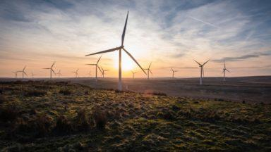 Whitelee Wind Farm.