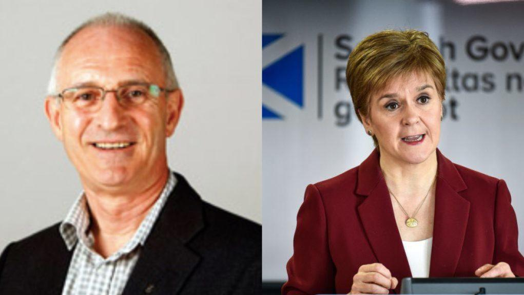 Thompson said backing Sturgeon's party in the regional list section will 'achieve nothing'.