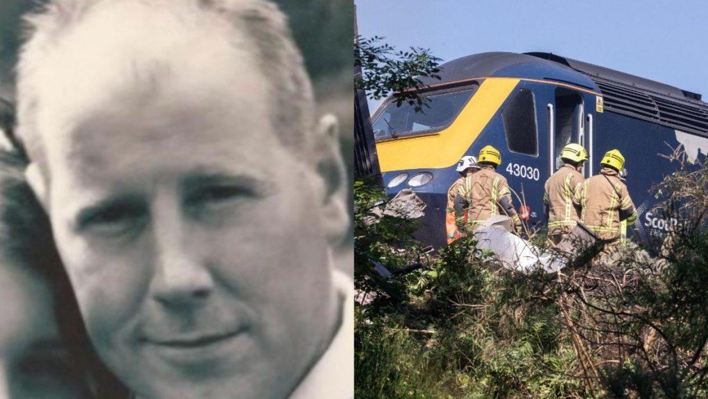 Tribute: Father-of-three Brett McCullough, 45, died in the crash.