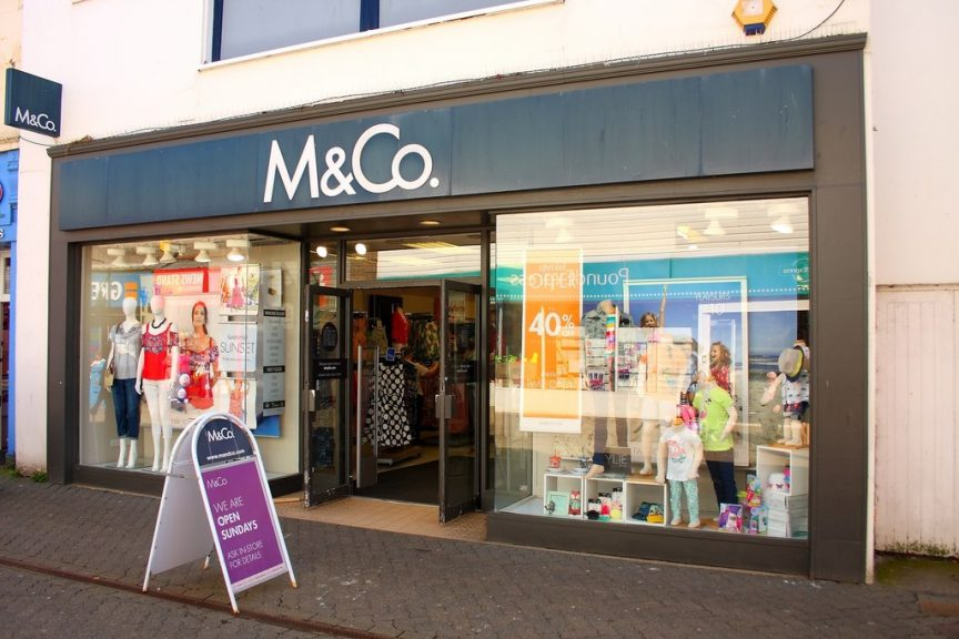 M&Co: 47 stores to close.