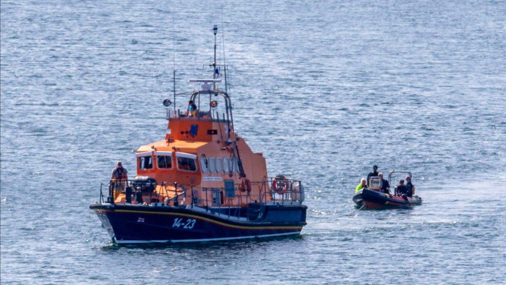 Oban RNLI: The team rescued nine people and a dog.