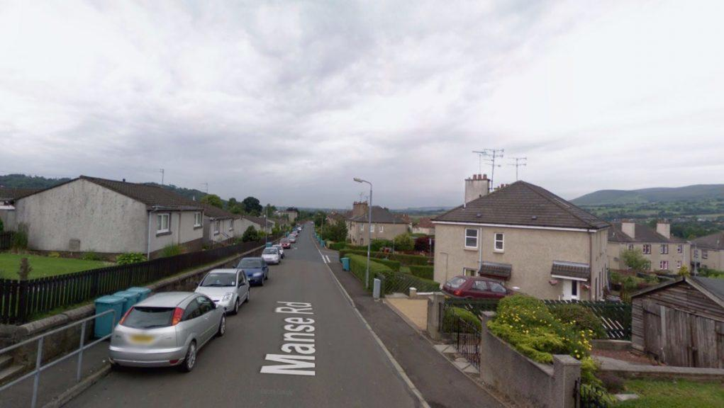 Kilsyth: Stephen Rintoul's body was found within a flat in Manse Road.