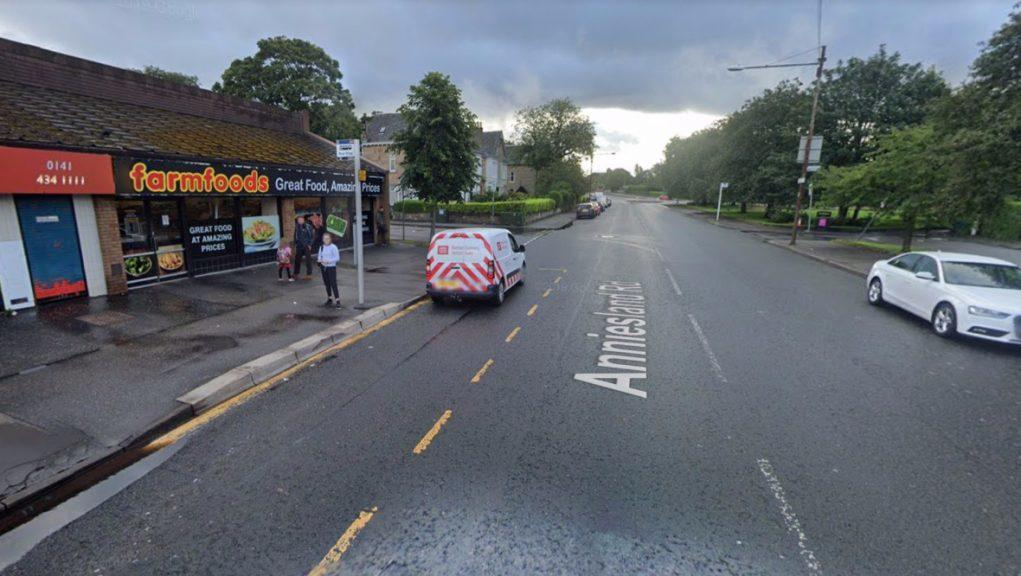 Glasgow: The victim was attacked near the Farmfoods store.