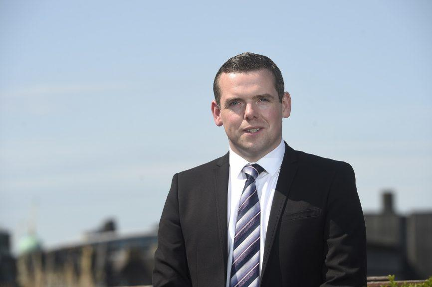 'In it to win it': Douglas Ross.