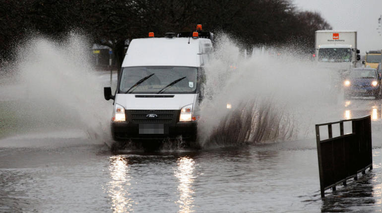 Forecasters warn roads, homes and businesses could be flooded.