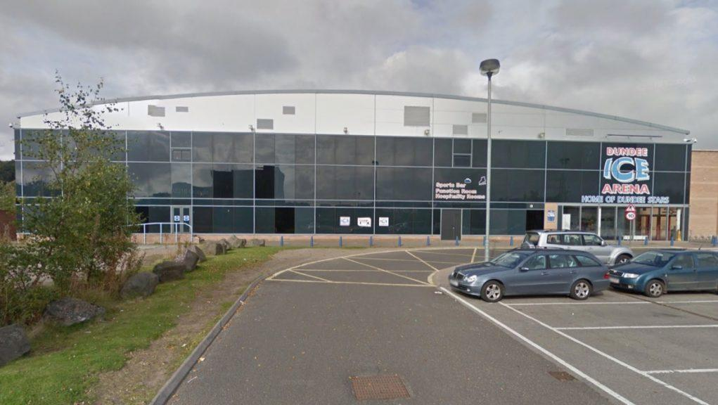 Dundee Ice Arena: Police said a group of youths were spotted in the area at the time of the vandalism.