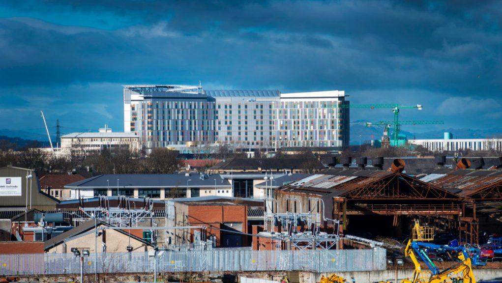 Glasgow: The Queen Elizabeth University Hospital.