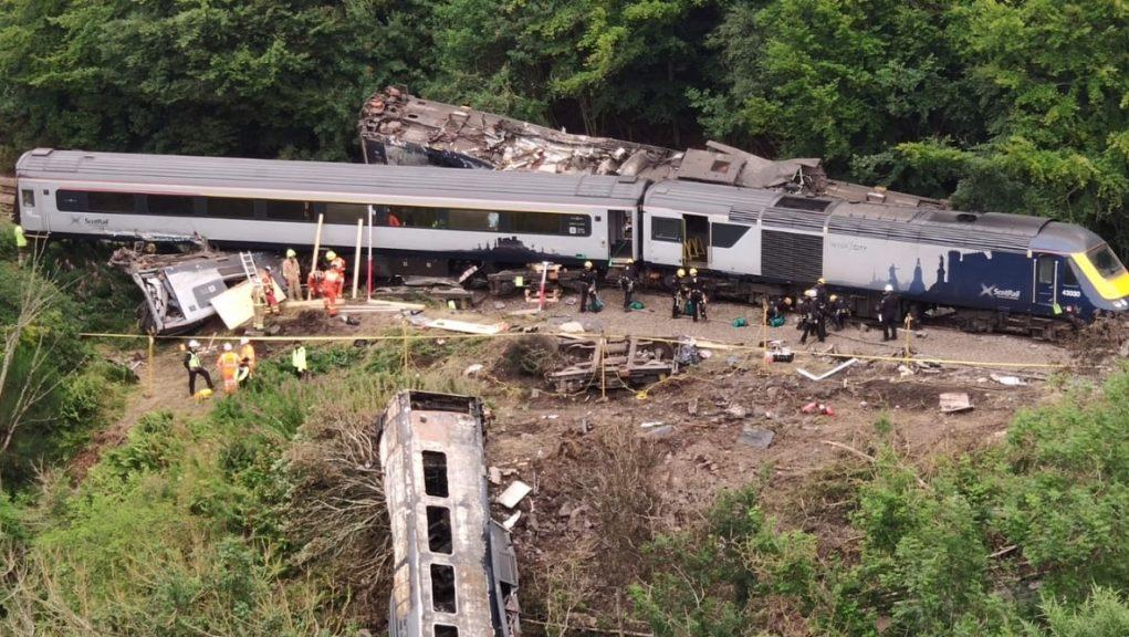 Interim report has been published into Stonehaven train derailment last August.
