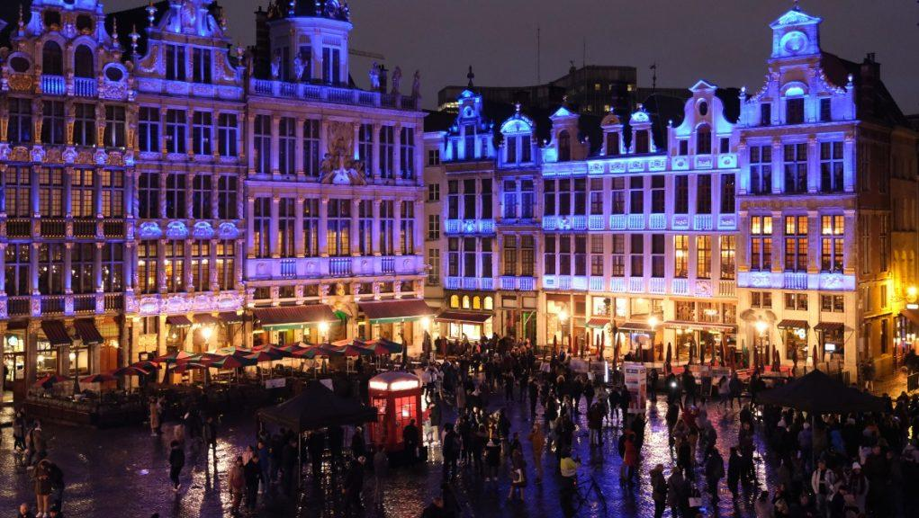 The Grand Place in the Belgian capital, Brussels.