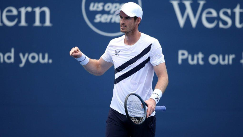 Murray is back playing competitive tennis.