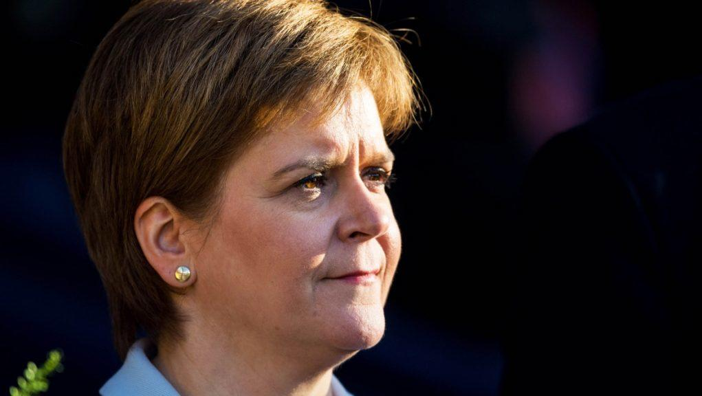 First Minister: Nicola Sturgeon has confirmed she intends to stand in next year's Holyrood election.