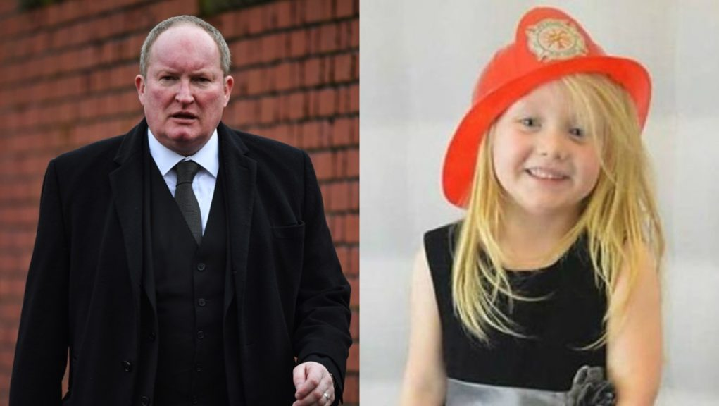Court: Iain McSporran won justice for murdered Alesha MacPhail and her family.