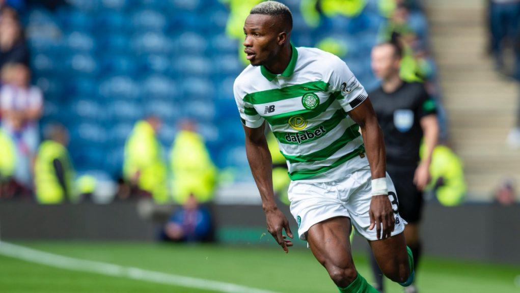 Out of favour: Boli Bolingoli leaves Celtic on loan.