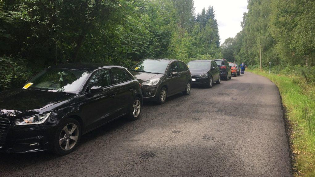 'Dangerous': 70 drivers fined over parking.